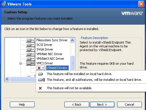 Install Drivers: Install Drivers Vmware